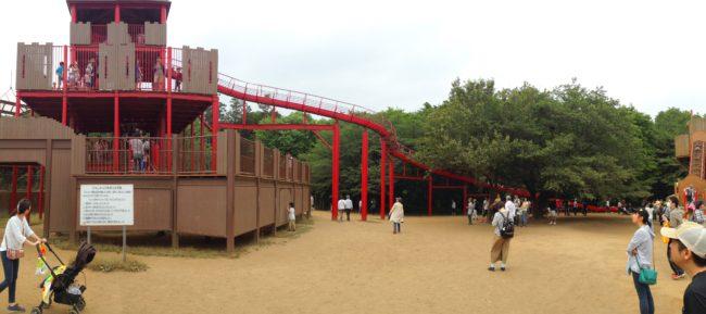アンデルセン公園大すべり台