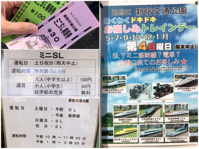 新宿交通公園ミニSL1