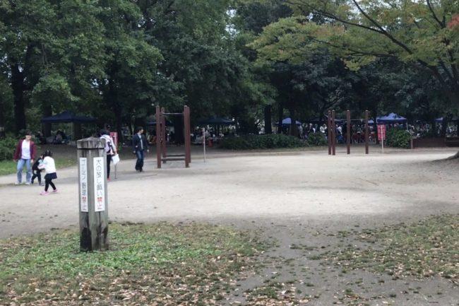 舎人公園遊具