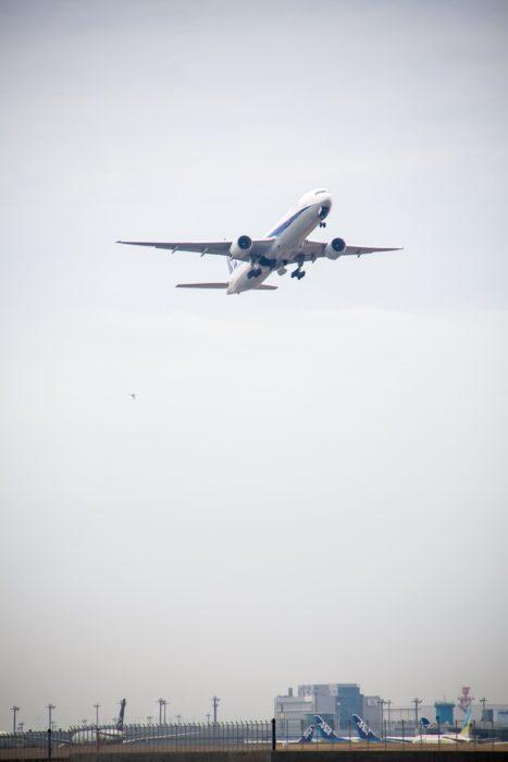 城南島飛行機