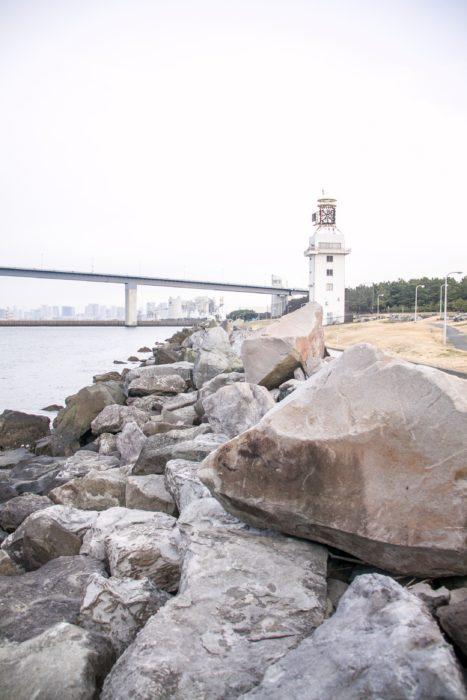 若洲海浜公園人口磯