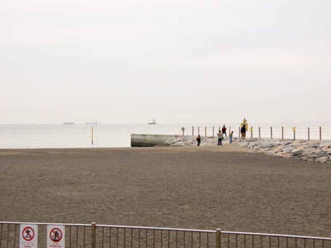 城南島海浜公園砂浜