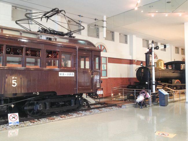 東武博物館展示車1