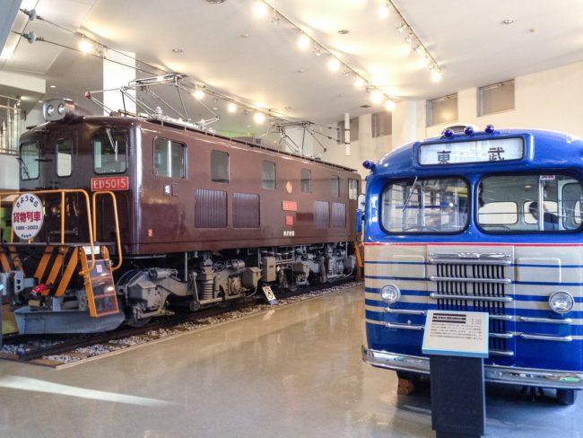東武博物館展示車2